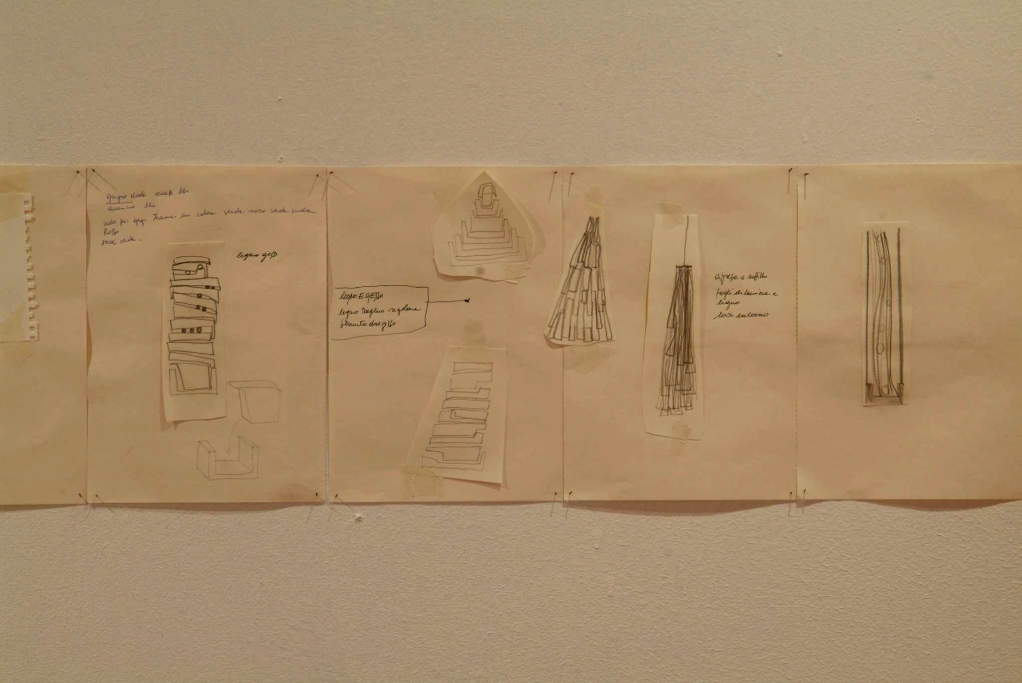 senza titolo /51 disegnitecnica mista su carta;