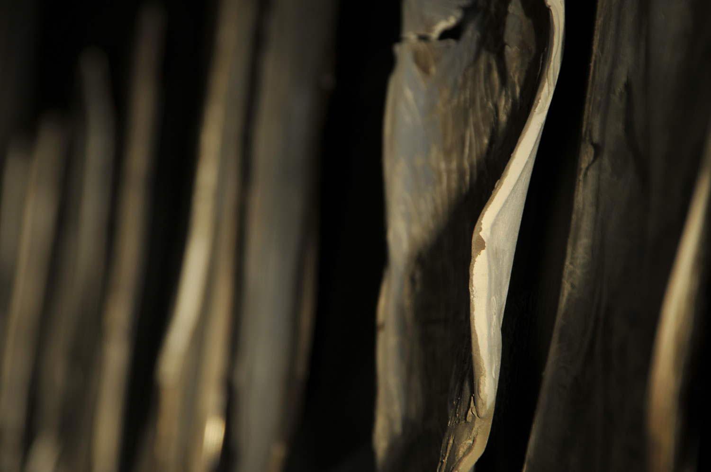Sentire il soffio/2014Formelle in ceramica, disegni, poesia ;