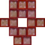 17 fè di presenza Scultura/installazione