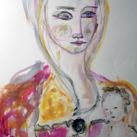 mater studio sulla figura femminile